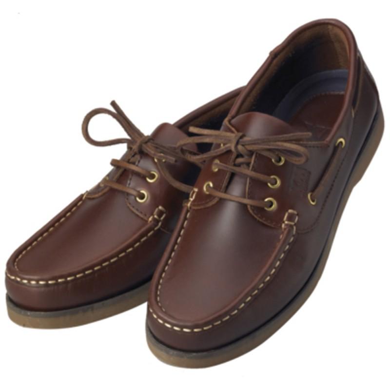 Braune nautische Schuhe XM Yachting Crew N43