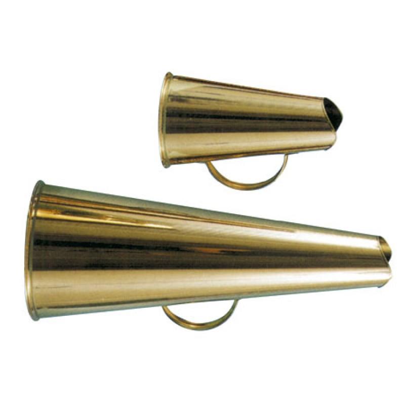 Klassisches Messing-Megaphon 20 cm